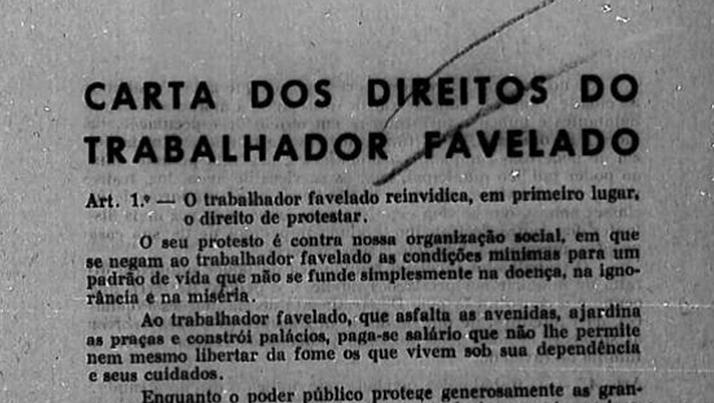 Artigo Associativismos de trabalhadores favelados no Rio de Janeiro e em Belo Horizonte (1955-1964) – Samuel Oliveira