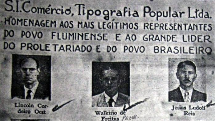 Artigo: Da eleição à cassação: a atuação dos parlamentares comunistas na Assembleia Legislativa do Rio de Janeiro (1947-1948) – Luciana Wollmann do Amaral