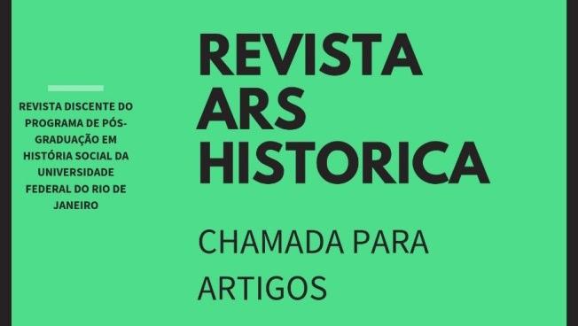 """Chamada de artigos pro dossiê """"História do trabalho e dos trabalhadores: dimensões políticas, econômicas e sociais"""" da revista Ars Historica"""