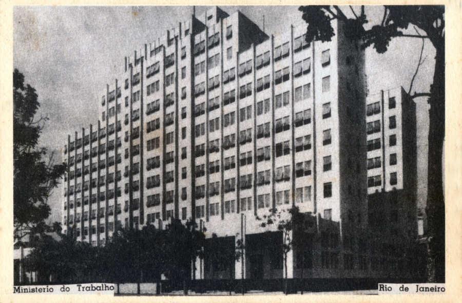 Lugares de Memória dos Trabalhadores #19: Prédio do Ministério do Trabalho, Indústria e Comércio, Rio de Janeiro (RJ) – Angela de Castro Gomes