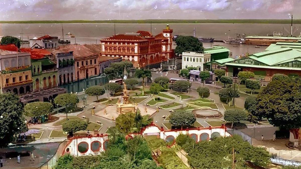 Lugares de Memória dos Trabalhadores #24: Praça do Comércio, Manaus (AM) – Luís Balkar Sá Peixoto Pinheiro