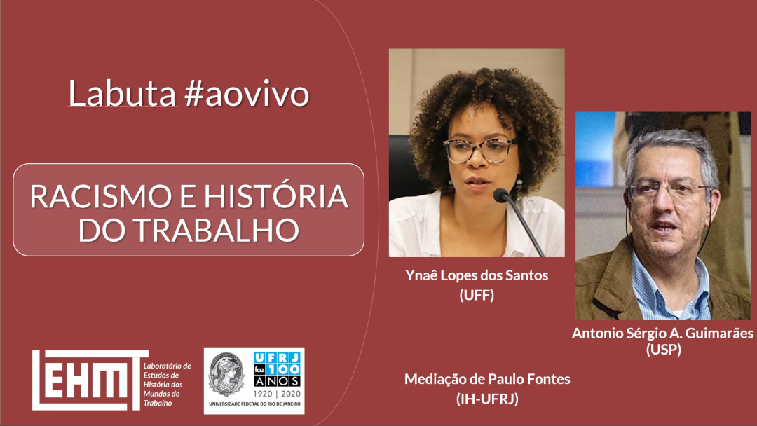 Vale Mais #08 – Racismo e história do trabalho – com Ynaê Lopes Santos (UFF) e Antônio Sérgio Alfredo Guimarães (USP).