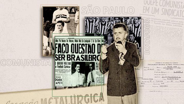 História do trabalho é destaque em reportagem do Globo Esporte sobre jogador operário